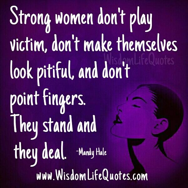 A Strong women