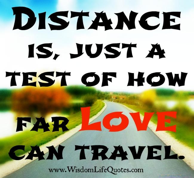 How far Love can travel?