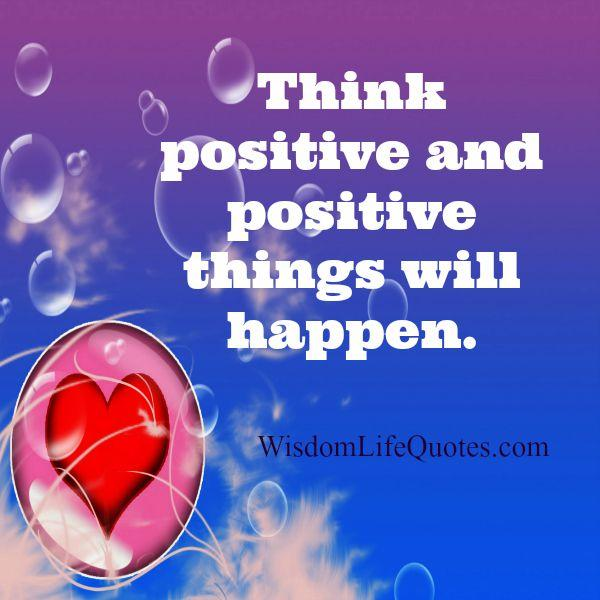 How positive things will happen in your life?