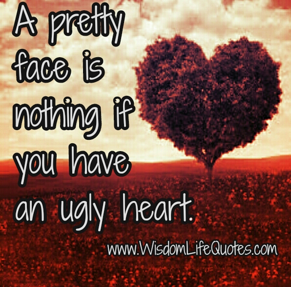 If you have an Ugly Heart