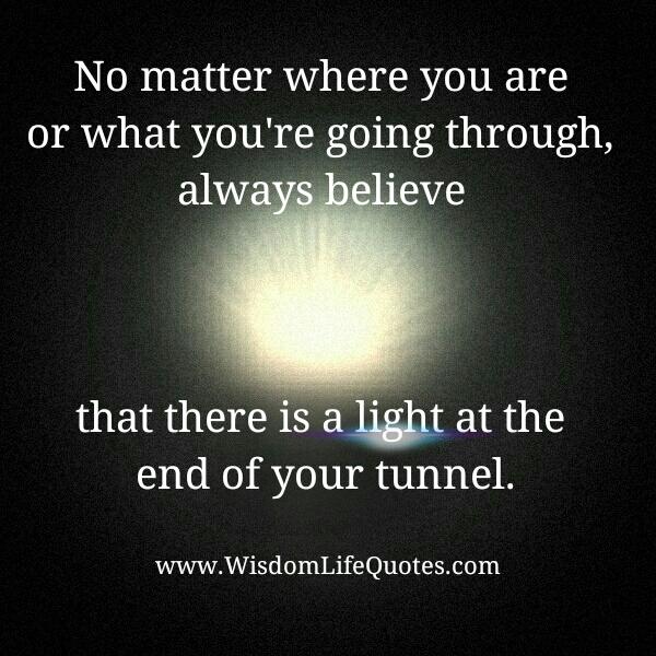 No matter what you're going through