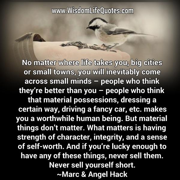 No matter where life takes you