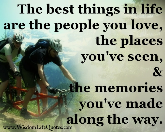 Best Things In Life Quotes. QuotesGram