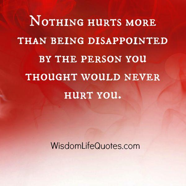 The person you thought would never hurt you