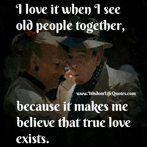 True Love exists in modern world